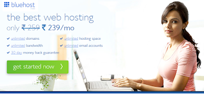 Bluehost Review, Affordable Wordpress Hosting, Indian Bloggers, Cheap Web Hosting