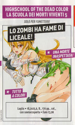 Highschool of the Dead Color #5