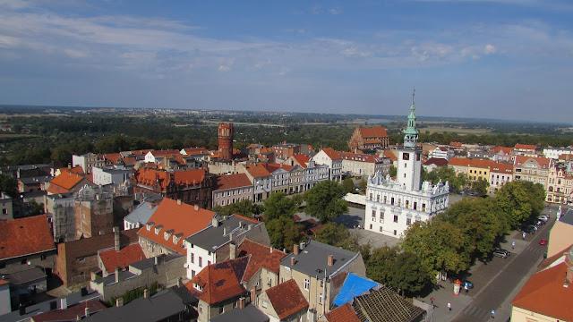 panorama miasta Chełmno