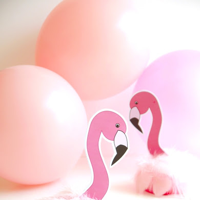 DIY Flamingo Birthday Party Decorations