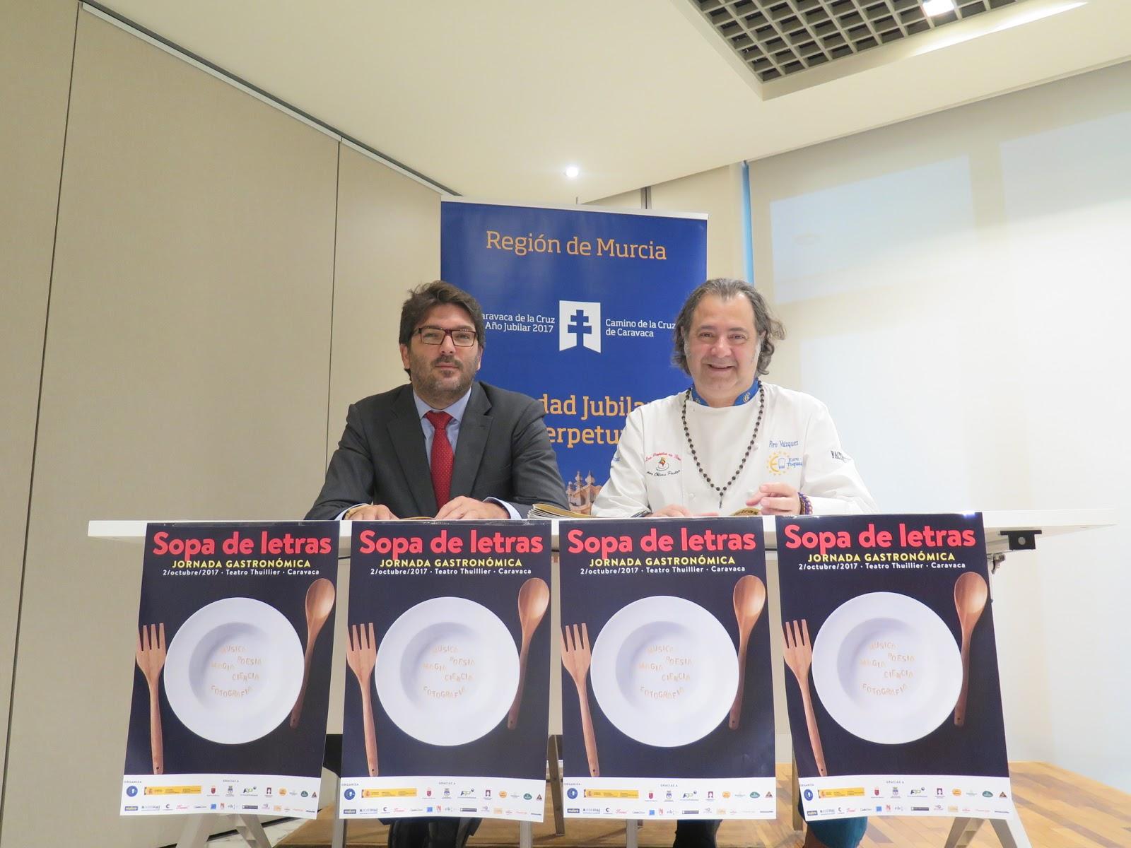 Sopa de letras\' reúne en Caravaca de la Cruz a chefs con ...