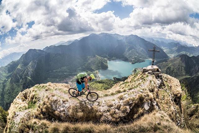 landschaft gardaee cima D'oro mountainbike bike mtb trail track gps