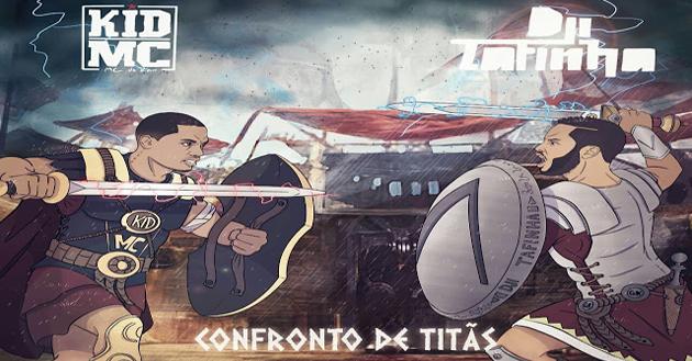 Baixe Agora: Dji Tafinha & Kid Mc - Confronto De Titãs (Álbum)