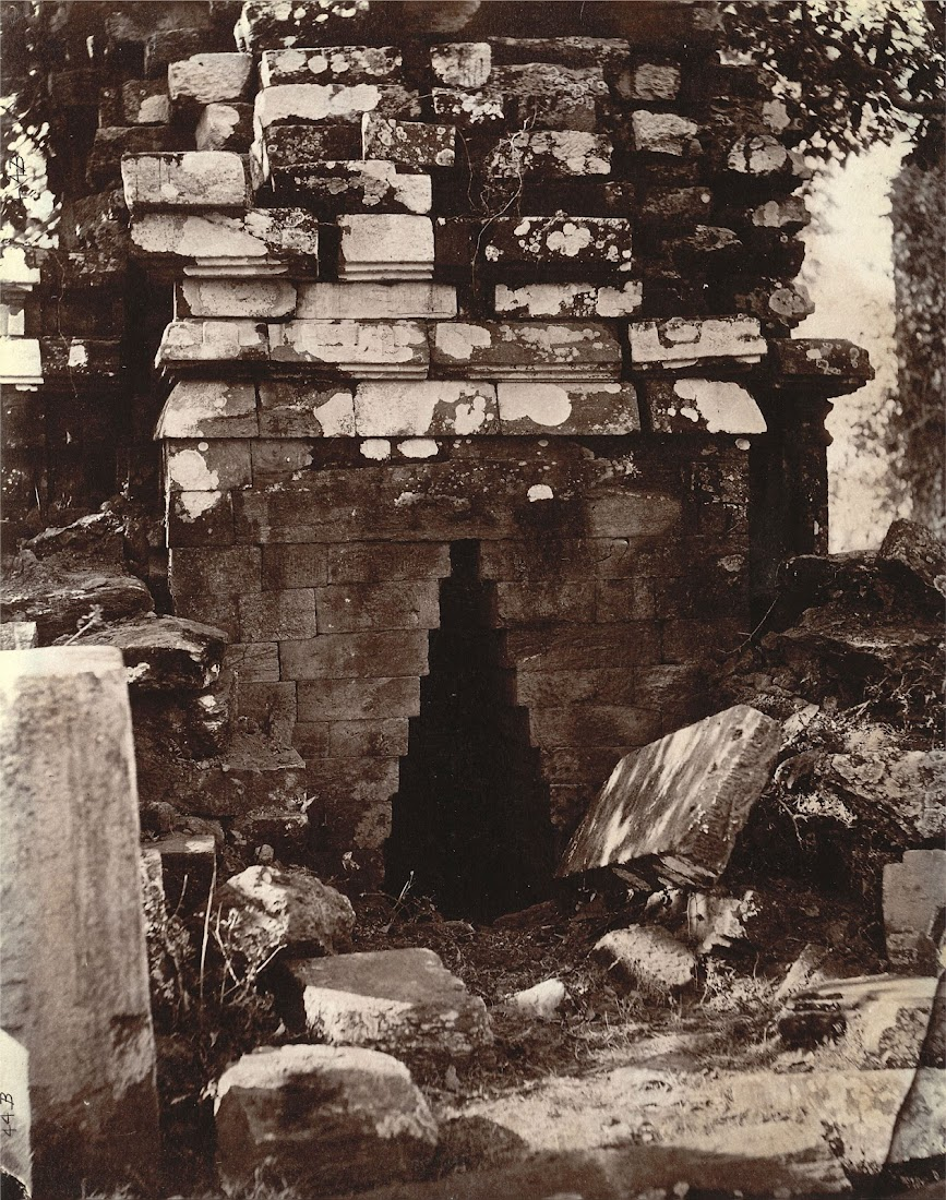 Close view of entrance to temple at Pakbirra Village, Manbhum District (Now in Purulia District), Bengal - 1872