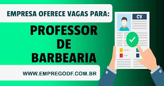 Professor de Barbearia