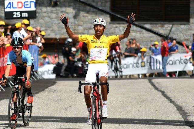¡Grande Egan! Sexto colombiano en ser campeón del Tour de l'avenir