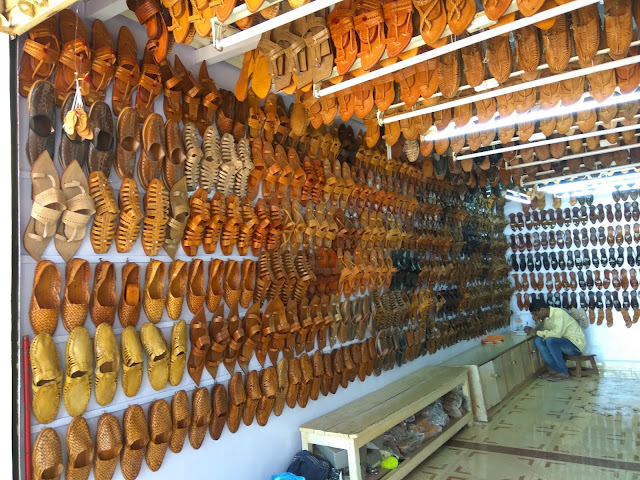 Kolhapuri Chappal Shop