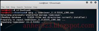 dpkg -i teamviewer_11.0.53191_i386.deb