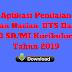 Aplikasi Penilaian Ulangan Harian, UTS Dan UAS Kelas 3 SD/MI Kurikulum 2013 Tahun 2019 - Ruang Lingkup Guru