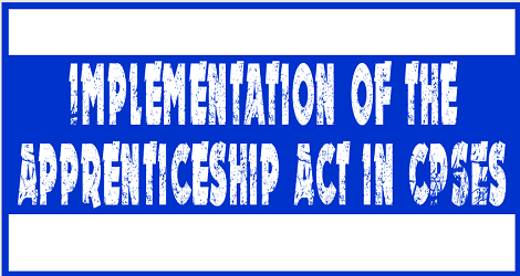 implementation-of-aprenticeship-act-in-cpses