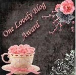 """One Lovely blog ""Award"