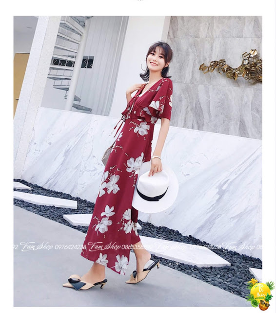 Cua hang ban vay maxi di bien tai Viet Hung
