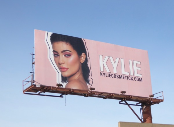 Kylie Cosmetics Jan18 billboard