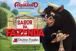 Promoção Divino Fogão 2018 Copos Colecionáveis Filme Ferdinando
