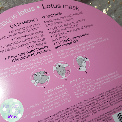 Sephora Lotus Mask | Kat Stays Polished