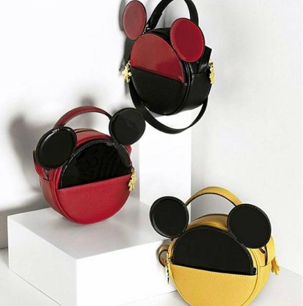 Arezzo Coleção Sapatos Bolsas Disney Mickey Minnie