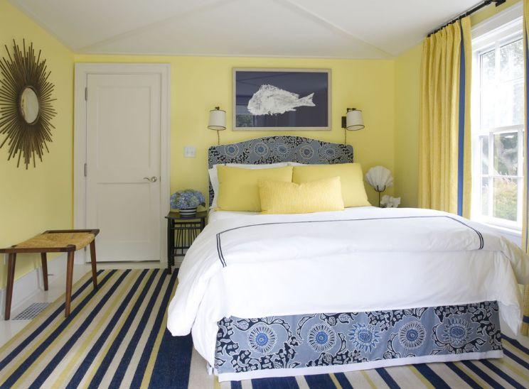 Dormitorios en amarillo y gris dormitorios colores y estilos for Paredes pintadas de gris