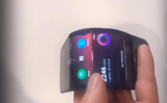 Lenovo's foldable smartphone debut in October
