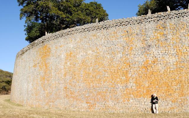 Tembok Besar Zimbabwe, Zimbabwe