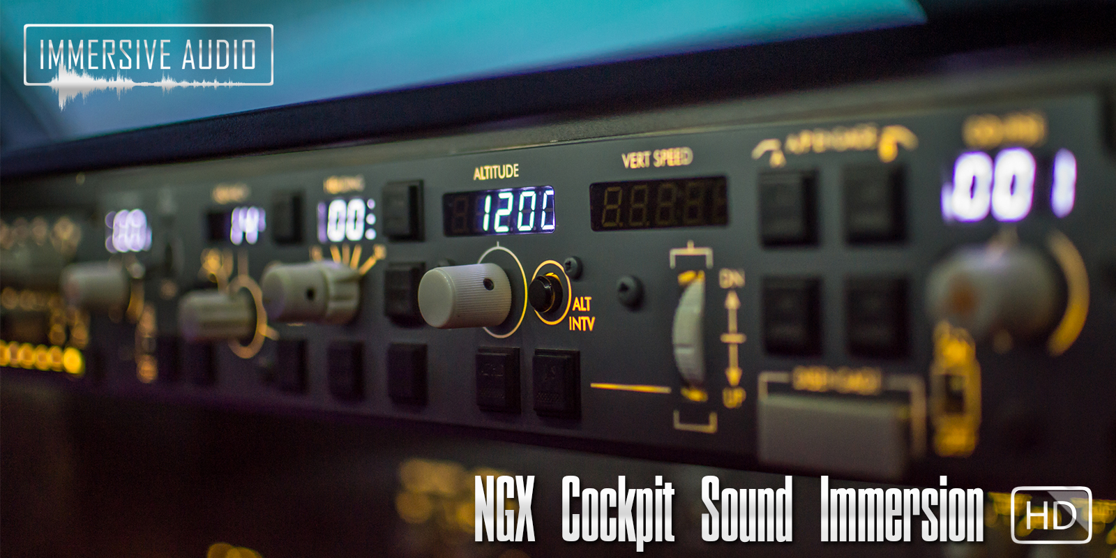 For Love Of Sim: IMMERSIVE AUDIO - NGX COCKPIT SOUND