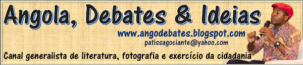 Blog do escritor angolano Gociante Patissa