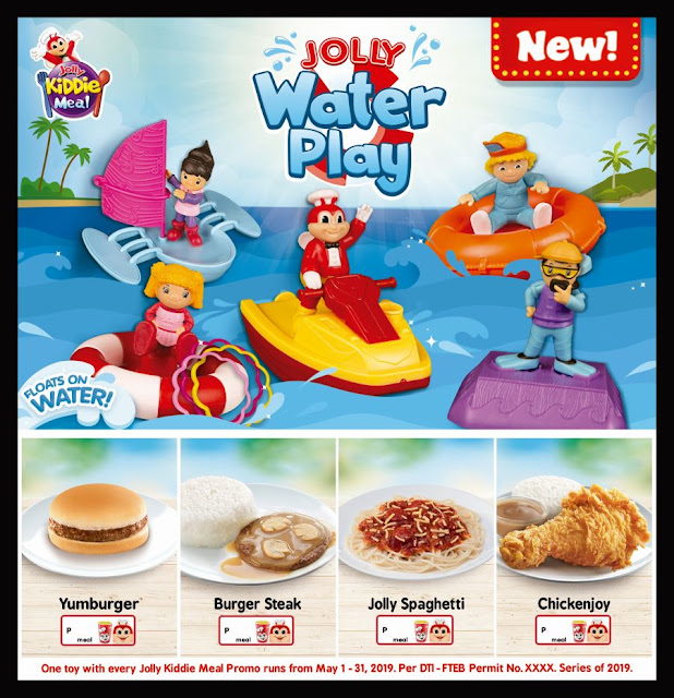 Jollibee Kiddie Meal : May 2019 Toys