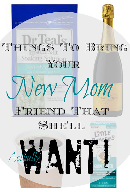 Have a friend who just had a baby? Here are some things to bring her and do for her - that she'll really appreciate! Take it from this experienced mama