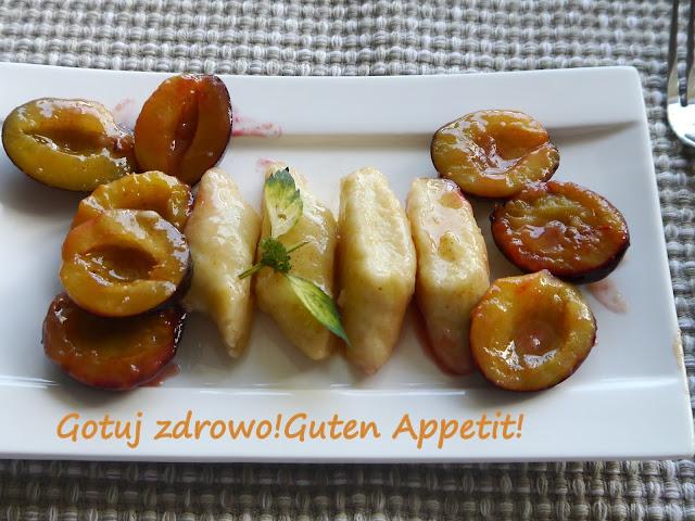 Leniwe pierogi z karmelizowanymi śliwkami - najlepsze - Czytaj więcej »