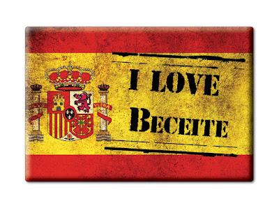 I love Beceite, bandera, España