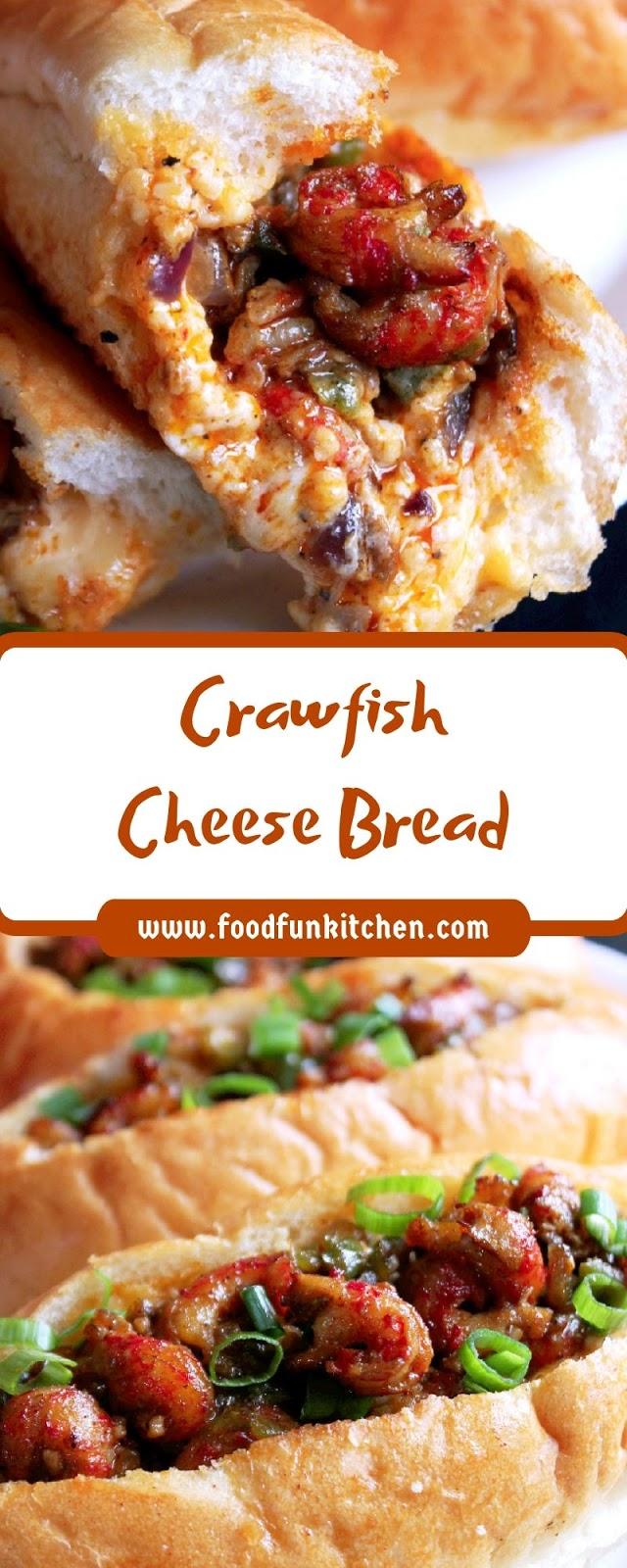 Crawfish Cheese Bread