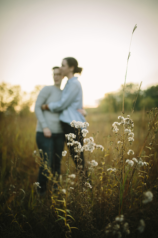 Engagement photo shoot - Photography by Jessica Holleque