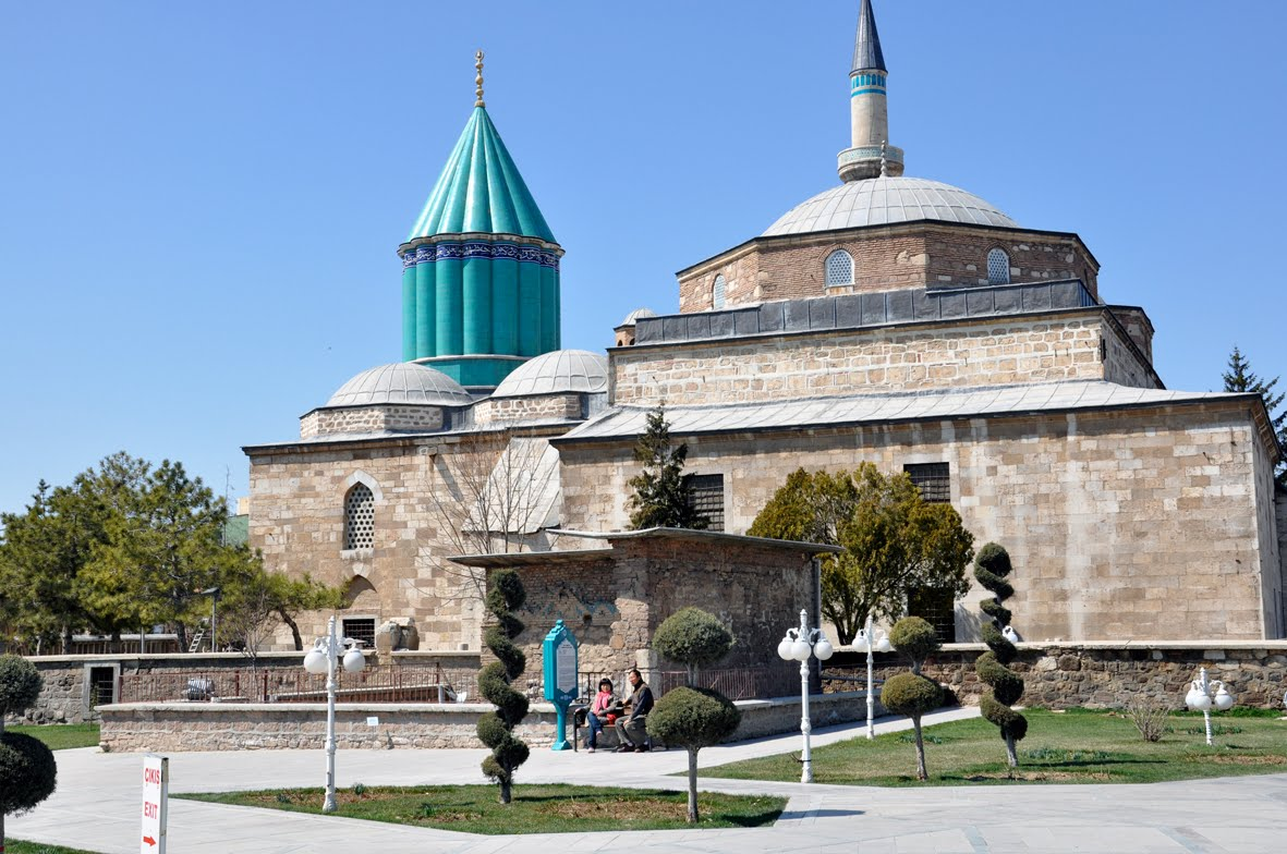 WINDSONG Rihla Journey 27 Konya Turkey Sufi Spiders