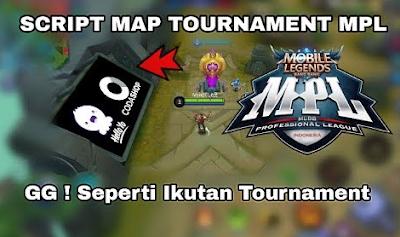 cara mengubah tampilan map mobile legends menjadi map turnamen mpl