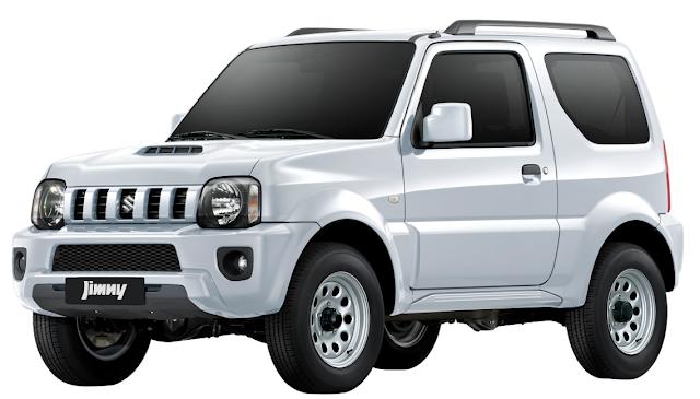 New Suzuki Jimny Superior White