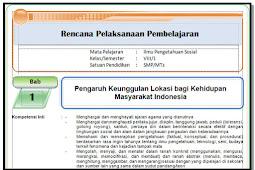 Unduh RPP, Silabus , KI dan KD , Prota, Promes KK 2013 IPS Kelas 8 SMP/MTs