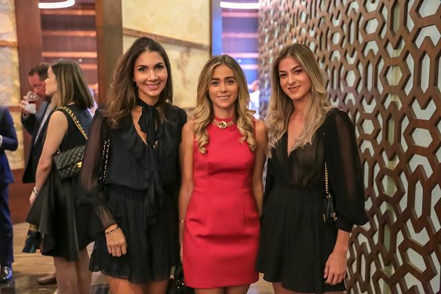 Laura Castillo, Gabriella Ariza y Erika Haché
