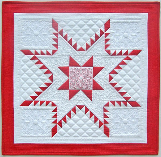 Aurora Feathered Star Block Free Tutorial