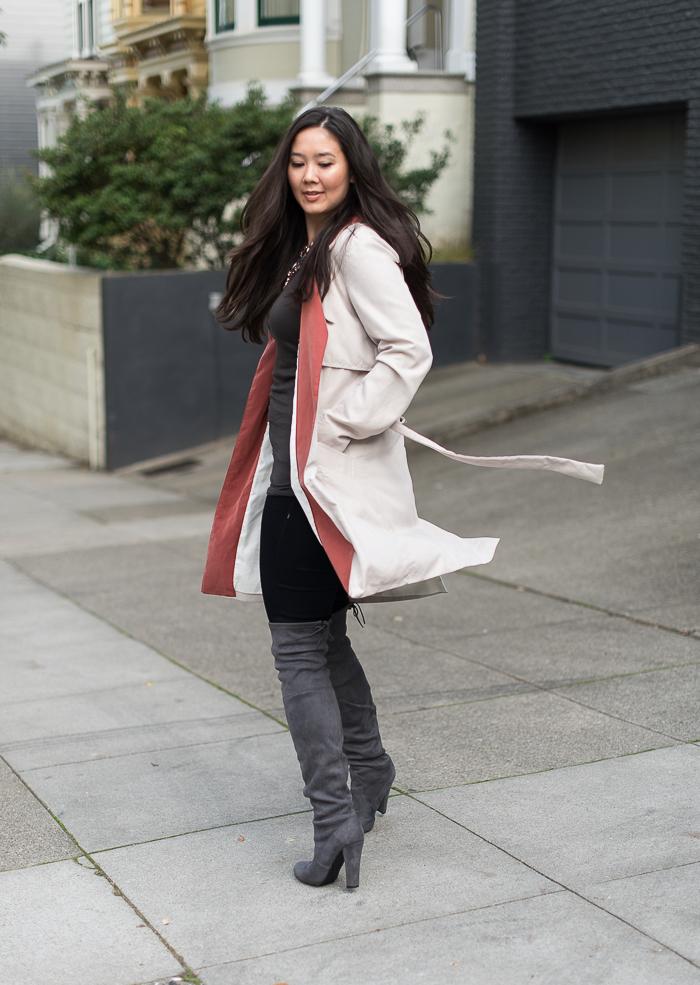 fall trench coat