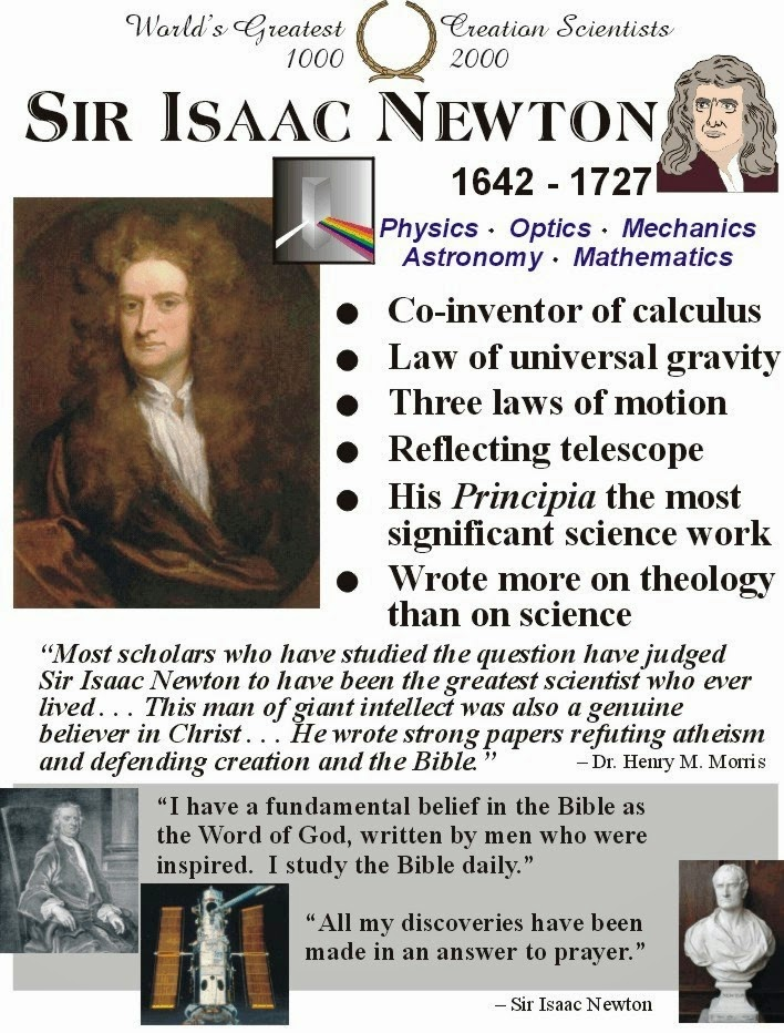Sir Isaac Newton Rules