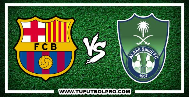 Ver Barcelona vs Al Ahli EN VIVO Por Internet Hoy 13 de Diciembre 2016