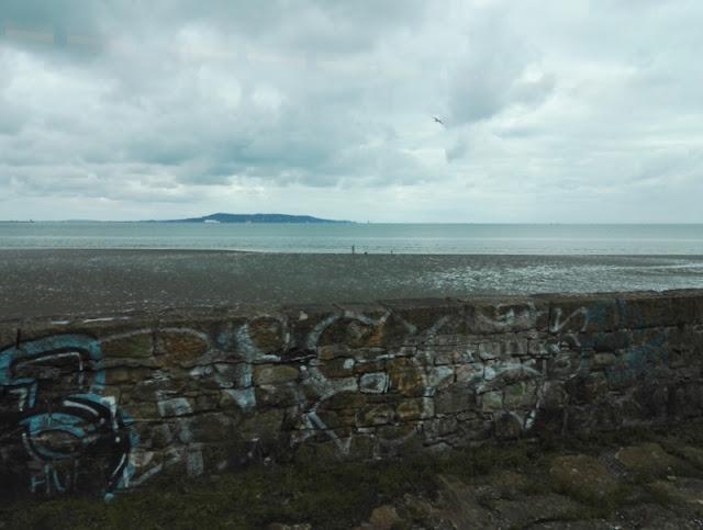 Irlanti - maisemat junasta