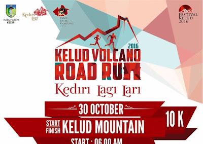 Kelud Volcano Road Run 2016 Kediri Jawa Timur Gunung kelud
