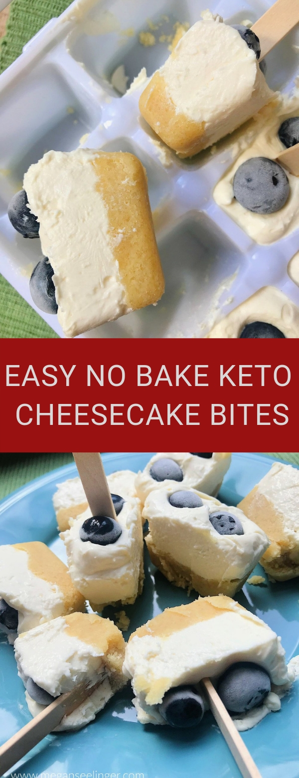 EASY NO BAKE KETO CHEESECAKE BITES