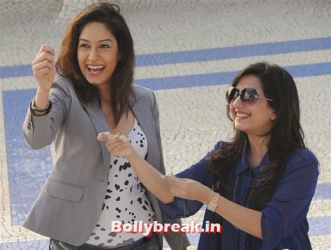Tanya Malik and Amy Billimoria, Amy Billimoria fly kites on Makar Sankranti