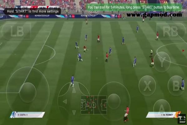 Gloud Games V2 3 9 PS4 Emulator Apk FIFA 17 High Graphics