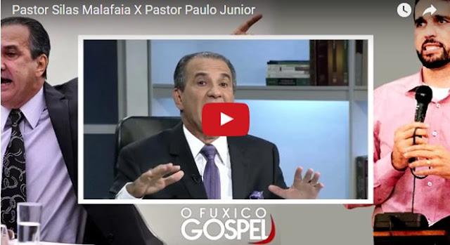 Pastor Silas Malafaia e Paulo Junior