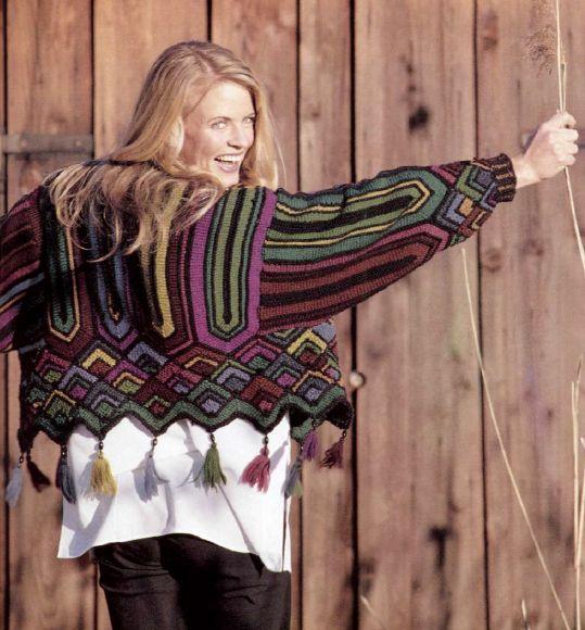 sweterek boho