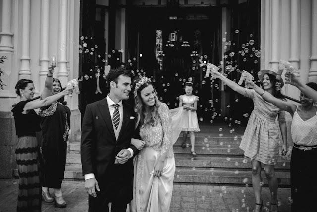 pompas jabon boda