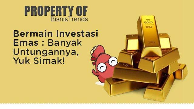 Inilah 5 Keuntungan Investasi Emas Batangan Yang Patut Untuk di Coba