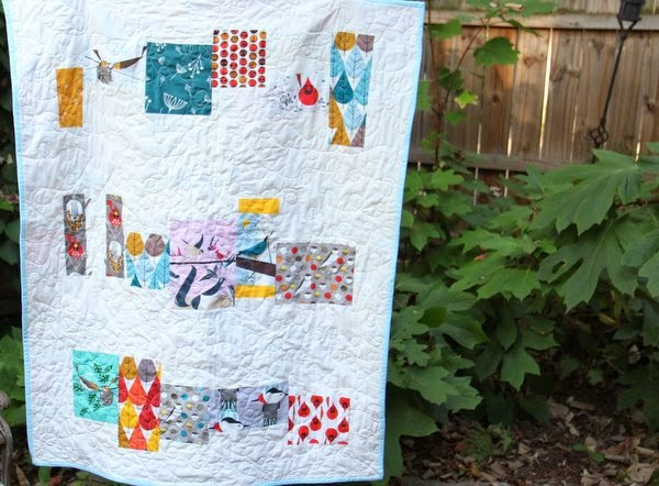 Plum And June Charley Harper Baby Quilt Tutorial